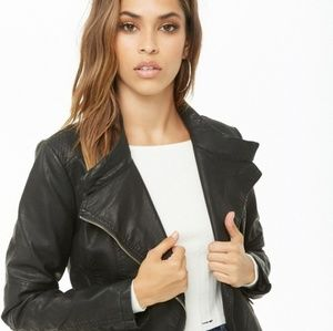 LA Coalition Faux Leather Jacket